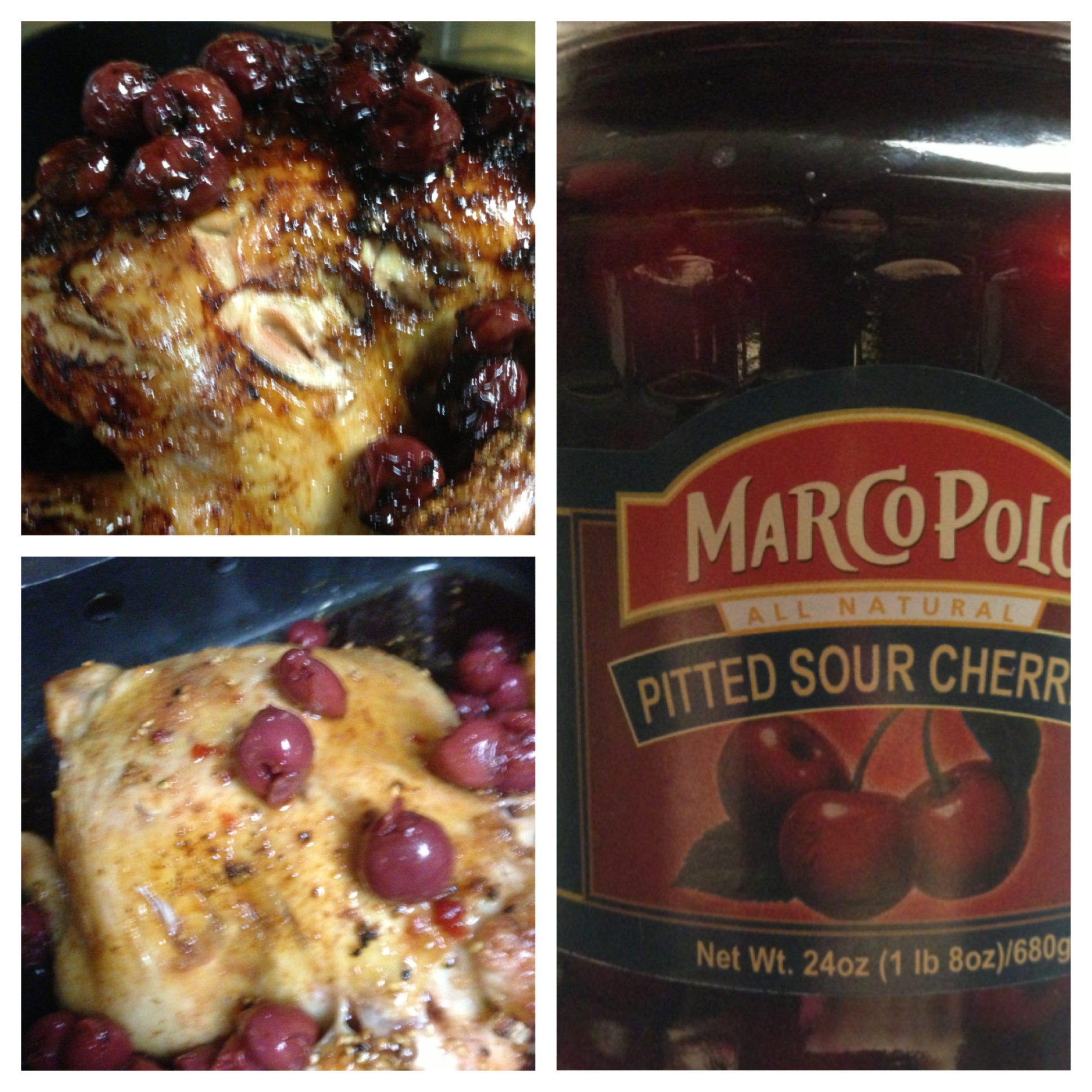 balsamic sour cherry chicken